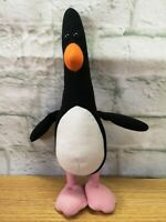 L2) VINTAGE WALLACE AND GROMIT FIGURE Feathers McGraw SOFT PLUSH TOY