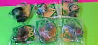 Complete Set of 6 Wizard of Oz Happy Meal Toys NIP RARE Complete, 75th Anniv.