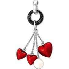 pasionista Pendant Hearts with Zirconia and Pearl