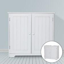 Bathroom Sink Cabinet Under Basin Unit Cupboard Storage Furniture White UK