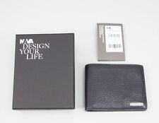NAVA Courier Business Wallet Brieftasche Kreditkarten Blue CB410B ( 75 )