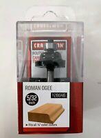 "CRAFTSMAN 5/32"" ROMAN OGEE CARBIDE TIPPED ROUTER BIT 28646 9-28646 1/4"" SHANK"