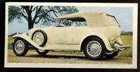 Tobacco Card, Carreras, Black Cat, VINTAGE CARS, No Filter, 1976,Rolls Royce,#25