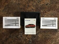 2013 Chevrolet Malibu Owners Manual w/ Case & Supplements - #F