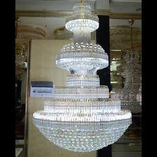 Luxus Großer LED K9 Kristall Villa Hotel Hängeleuchte Deckenleuchte  Kronleuchter
