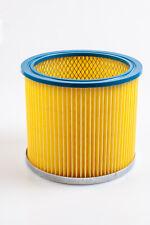 Rund-Filter Lamellenfilter gelb für Rowenta Kärcher Einhell Bosch Metabo