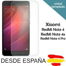 Cristal templado protector de pantalla 9H para Xiaomi RedMi Note 4 / 4 Pro / 4X