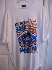 Michael Waltrip #15 NAPA White Two-Sided T-Shirt Size XL New Chase Authentics