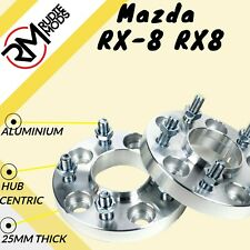 Mazda RX-8 RX8 5x114.3 67.1 25mm Hubcentric wheel spacers 1 pair UK MADE