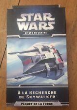 NEUF CARTES STAR WARS LCG EXTENSION @ PAQUET FORCE @ A LA RECHERCHE DE SKYWALKER