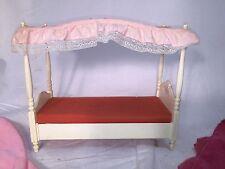 BARBIE - Dream Bed w/Canopy - Sheet & Dust Ruffle - Barbie Dream Bed