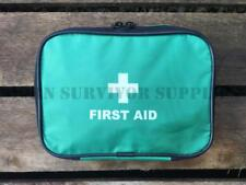 EMPTY FIRST AID KIT POUCH SMALL Green Trauma Bag New Zip Top Medical Carry Case
