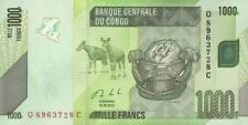 CONGO.2013.1000 FRANCS,,P-101,UNCIRCULATED,(S)