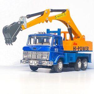 ⚠️LIMITED EDITION⚠️ DIAPET Yonezawa Truck Hino power Shovel flatbed