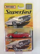 Matchbox Superfast 1961 Dodge Dart Phoenix Red Limited Edition up to 8000