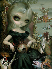 Jasmine Becket-Griffith art print SIGNED Bosch Princess medieval monsters queen
