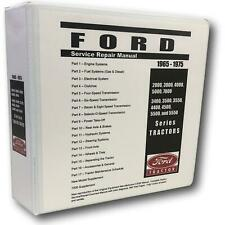4500 Ford Tractor Technical Service Shop Repair Manual HUGE 948pgs COLOR charts