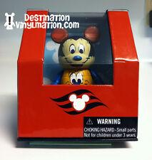 "DISNEY CRUISE LINE Vinylmation ALASKA TOTEM MICKEY PLUTO DCL 3"" NYC 2012"