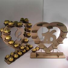 Amazing heart shape ferrero rocher stand wedding table number or birthday