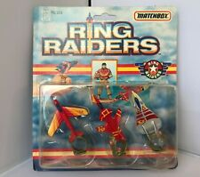 Ring Raiders, Commander Yinsu Yakamura, Vintage, Matchbox, 1989