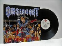 ONSLAUGHT let there be rock 12 INCH VG+/EX, LONX 224, vinyl, single, thrash, uk