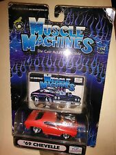 muscle machine 1/64 scale 69 chevelle