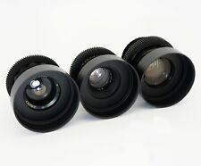Anamorphic Bokeh Set 37 58 85 Cine Lenses Canon EF Sony E Arri PL