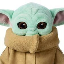 25/30CM Baby Yoda Plush Toy The Mandalorian Cute Stuffed Doll Gift UK HOT New