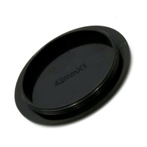 Rear Lens Body Cap Cover For M42 42mm Screw Mount T1Y5 Black Camera Lens C5W4