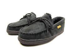 Boston Traveler  Moccasin Slippers 212M Black Size 11