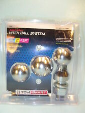 "TOW SMART SWAP-A-BALL HITCH BALL SYSTEM  1 7/8"", 2"" & 2 5/16"" Balls on 1"" Shank"
