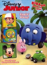 Disney Junior coloring book RARE UNUSED