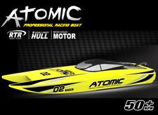 Volantex ABS Hull Atomic RC PNP Model Boat W/ Motor40A ESC Servos W/O Baterry