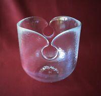Schwarze Ringoletto Spiralen Vase 14 cm von Rosenthal
