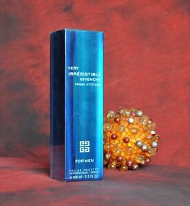 GIVENCHY VERY IRRESISTIBLE FRESH ATTITUDE EDT 100ml, DISCONTINUED, RARE, NEW