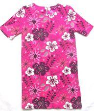 Gymboree Girls Dress Bold Purple Flowers Floral Easter Cotton Short Sleeve 5 6