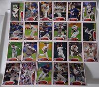 2012 Topps Series 1 & 2 Minnesota Twins Team Set of 23 Baseball Cards