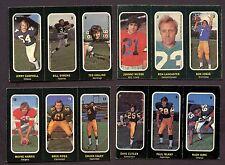 1972 OPC CFL Near Set 20 / 24 Insert  3 Sticker Panel Football Cards