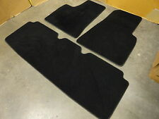 2012 - 2016 Tesla Model S oem factory floor mats black NICE !!