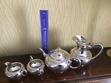Tea set silver plate, James Dixon Hollowware E853