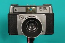 Vintage/Retro late 50's 35mm 'ILFORD SPORTSMAN' 35mm camera + lens hood & cases