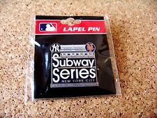 2014 NY New York Yankees vs Mets Subway Series Yankee Stadium pin MLB