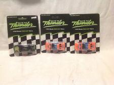 MELLO YELLO, HARDEE'S-DAYS OF THUNDER-RACING CHAMPIONS-3 CARS 1:64
