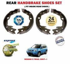 Für Nissan Xtrail X Trail 2.0 2.5 9/2007> Auf Hintere Hand Bremsbacken Satz