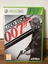 MICROSOFT XBOX 360-James Bond 007 Blood Stone-Complet avec Manuel Sans p&p