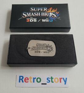 Super Smash Bros For Nintendo 3DS & Wii U - Plaquet métallique / Dog Tag