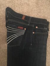 7 pour All Mankind Dojo jeans 25 rrp £ 230