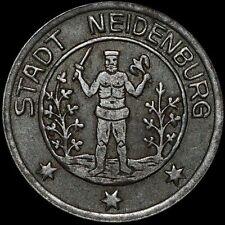NOTGELD: 50 Pfennig 1918. Funck 359.3. STADT NEIDENBURG / OSTPREUSSEN. NIDZICA.
