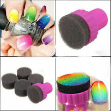 Stamping sponges Kit Ombre Nails magic Nail art stamping kit