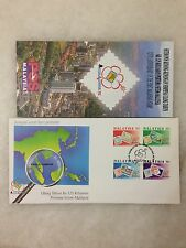 (JC) 125th Anniv of Malaysia Stamps 1992 - FDC (A)